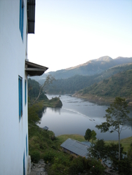 View from a guest house window.JPG