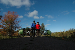 on the PEI trail
