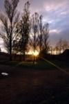 The last rays of light