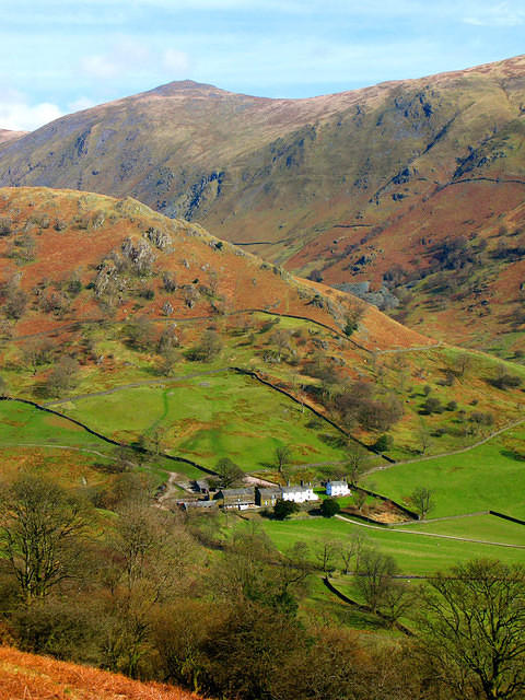 2009 03 17 Kirkstone Troutbeck Park Farm and Ill Bell