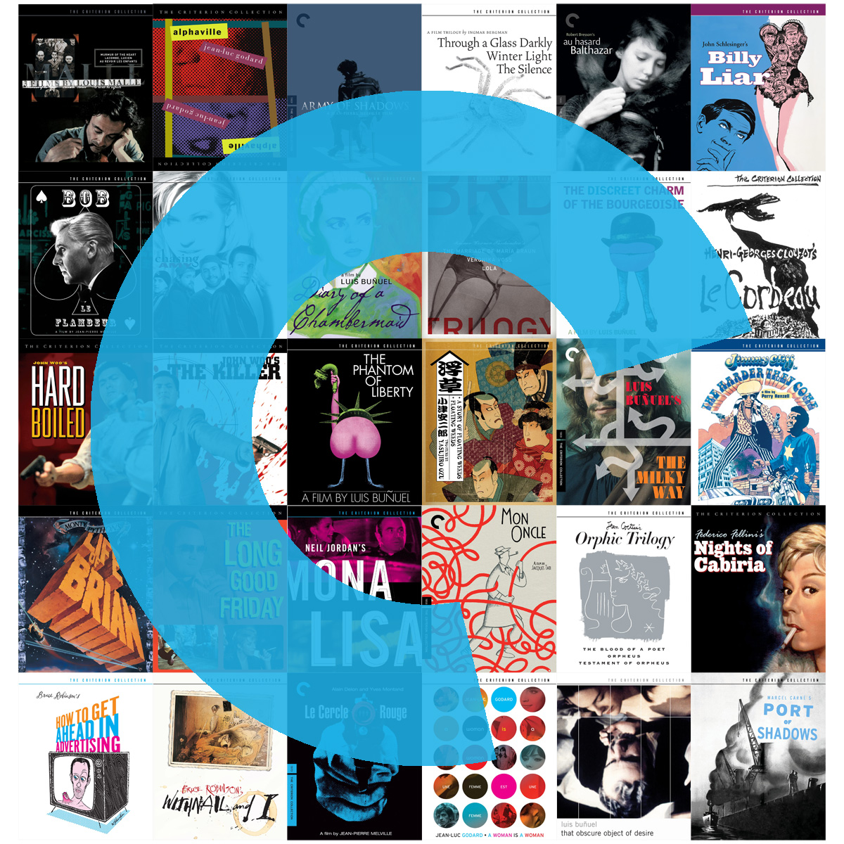 criterion collection pop-up shop | gallery 30 south