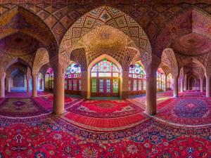Daniel Ricardo González - Pink Mosque Shiraz Iran I