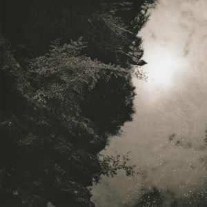 """""""River Tummel"""" © Iván B. Pallí. """"Looking down the River Tummel, near Pitlochry, Scotland."""" Approx. 18x18cm hand-printed silver gelatin lith print on Oriental Seagull paper. Signed and numbered original print, edition 1/5, offered at $250."""