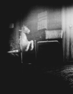 """""""Porch Scene"""" © Marc Sirinsky. Approx. 36.5x28.5"""" handcrafted silver gelatin print from medium-format pinhole negative. Original, signed, editioned (2/10) print offered at $1,000."""