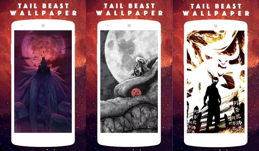tema android tail beast wallpaper
