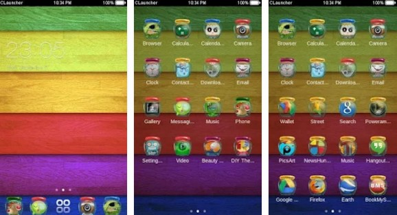 c launcher themes Magic Shop C Launcher Theme
