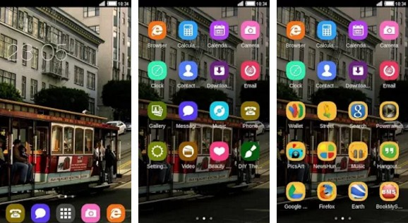 c launcher themes Street Car C Launcher Theme