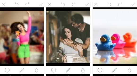 Aplikasi Kamera Blur blur effect