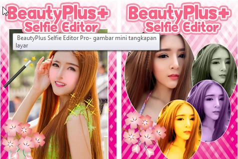 Aplikasi Camera MakeUp Plus selfie editor pro