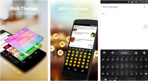 Keyboard Bahasa Arab untuk Android language go keyboard