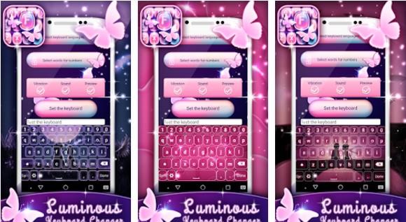 Tema Keyboard Android Lucu