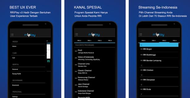 aplikasi untuk siaran radio