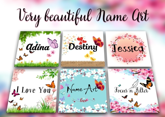 Name Art Focus n Filter