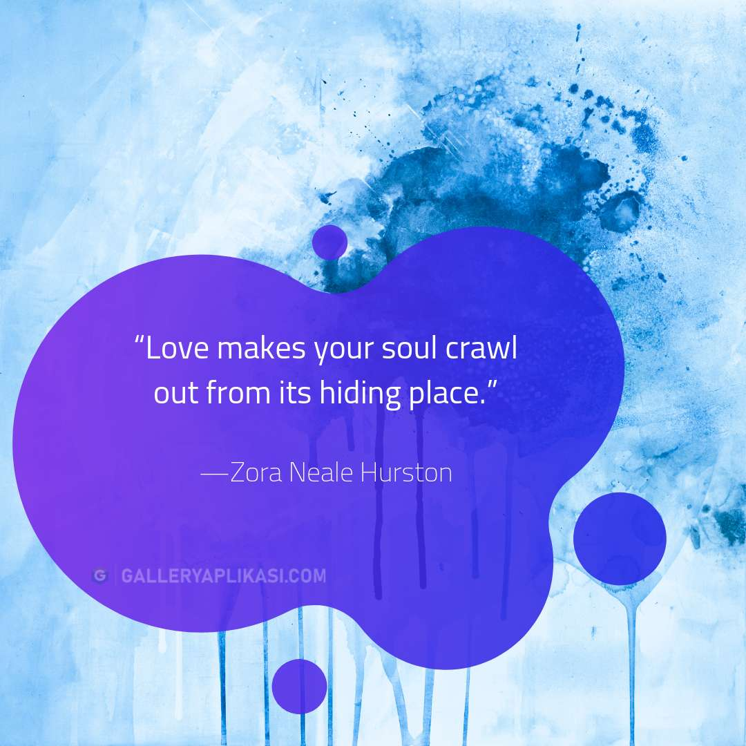 Love makes your soul crawl
