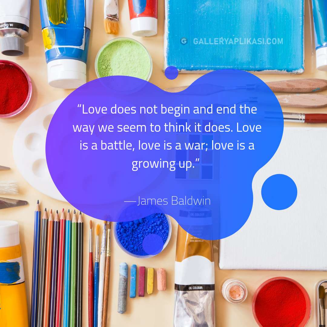 Love does not begin and end the way we seem to think it does