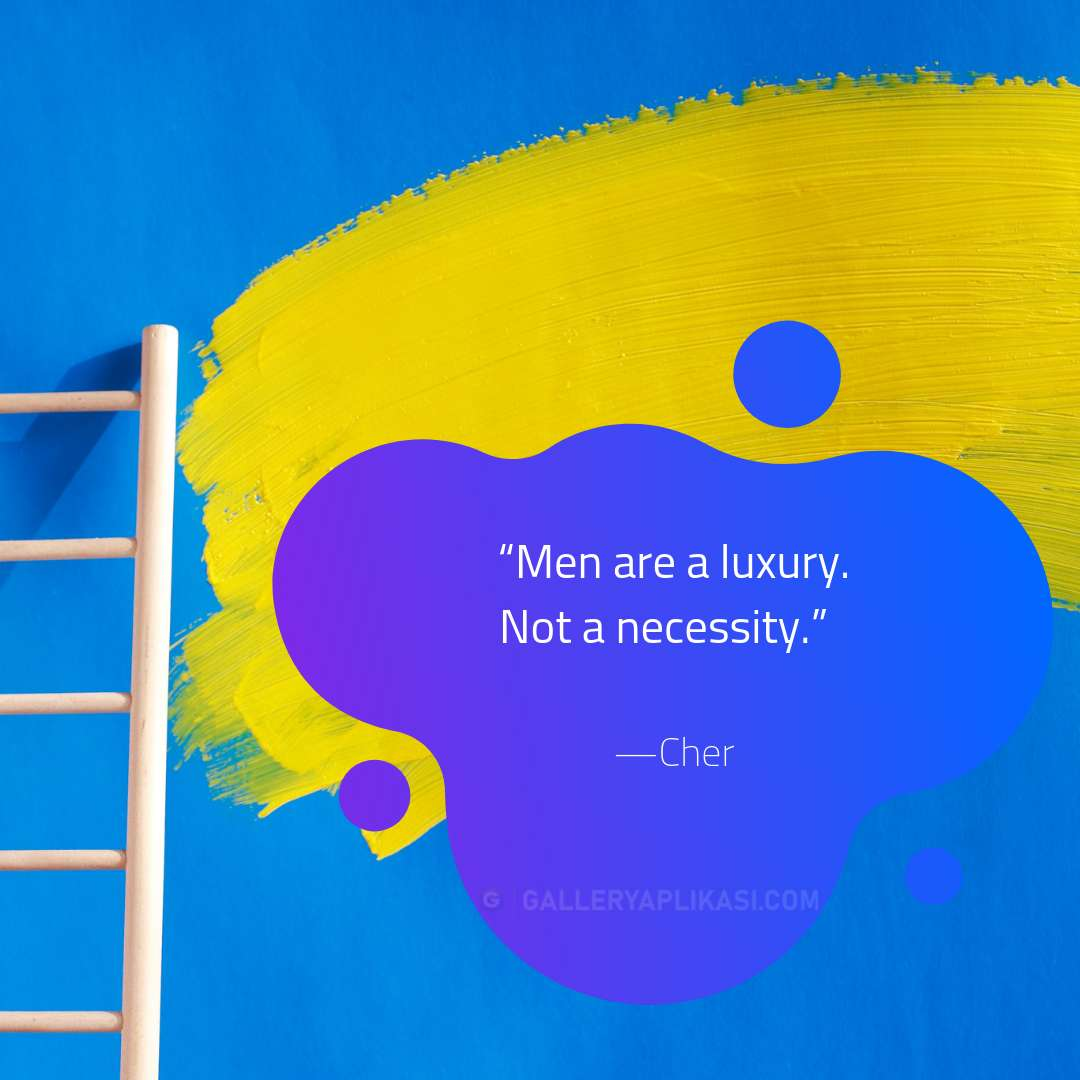 Men are a luxury