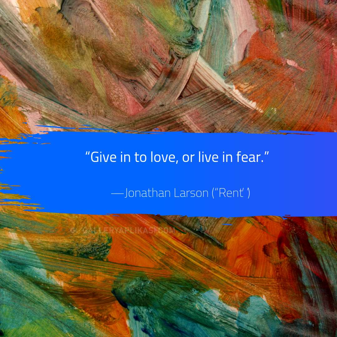 Give in to love