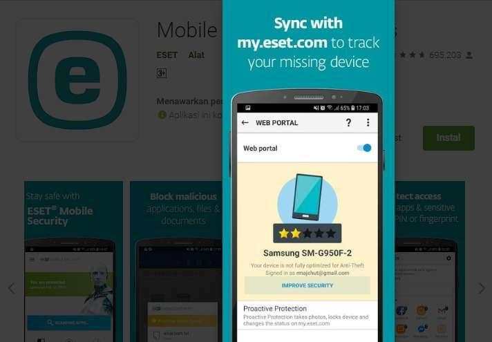 Telusuri Perangkat Android Yang Hilang