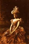 Beers_Jan_Van_Portrait_Of_A_Lady_In_A_Pink_Dress
