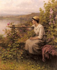 Knight_Daniel_Ridgeway_Resting_In_The_Garden