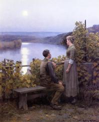 Knight_Daniel_Ridgway_Summer_Evening