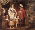 VERHAGHEN_Pieter_Jozef_Hagar_And_Ishmael_Banished_By_Abraham
