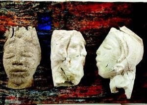 Helen Lieros, Euripides' Casket, Mixed Media, 38 x 56 x 10 cm