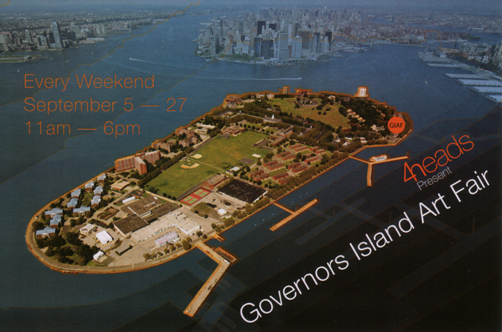 governors island art fair invite
