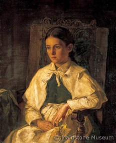 Portrait of a Girl in the Costume of Dr Woodward's School, Maidstone