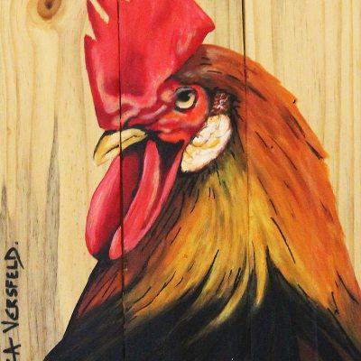 Piti rooster profile