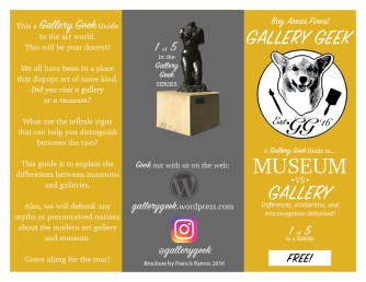 Museum Vs. Gallery Page 1