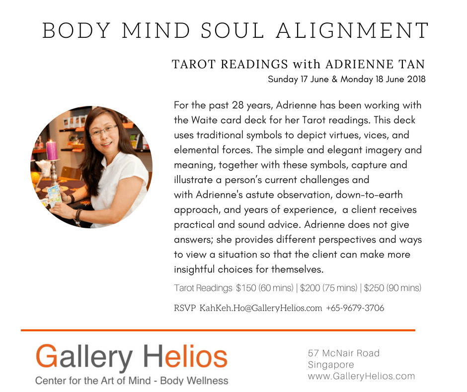 Body-Mind-Soul Tarot Readings