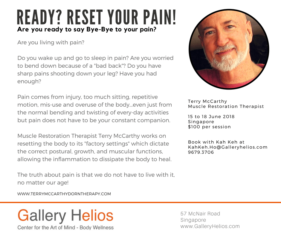 Terry McCarthy – Muscle Restoration Therapy