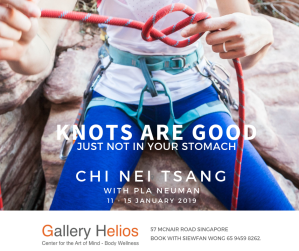 Knots are Good Not in Stomach Chi Nei Tsang with Pla Jan 2019