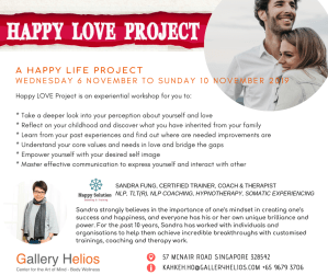 Happy LOVE Project 6 to 10 November 2019