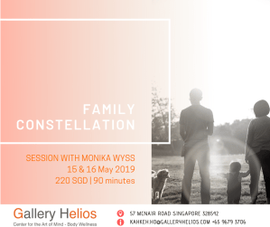 Family Constellation sessions with Monika Wyss May 2019