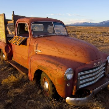 Abandoned Truck near Taos