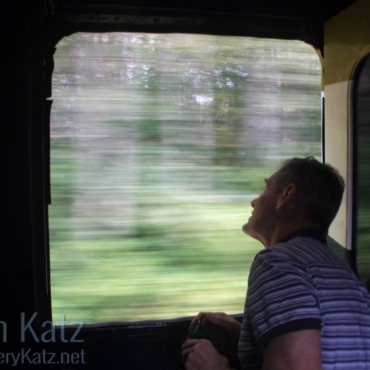 Passenger on Rocky Mountaineer