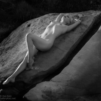 Rock Nymph #5 BW