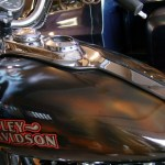 Harley Davidson with Airbrush