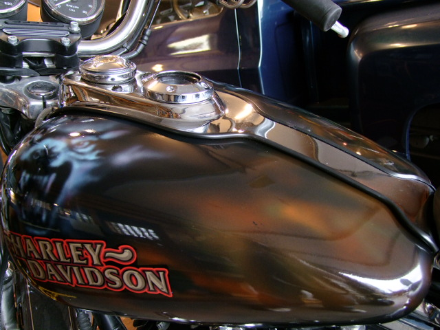 Custom Air Brush - Harley Davidson