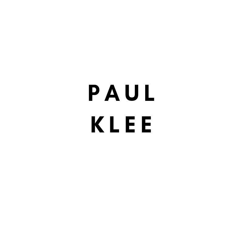 Artists Künstler Klassische Moderne: Paul Klee