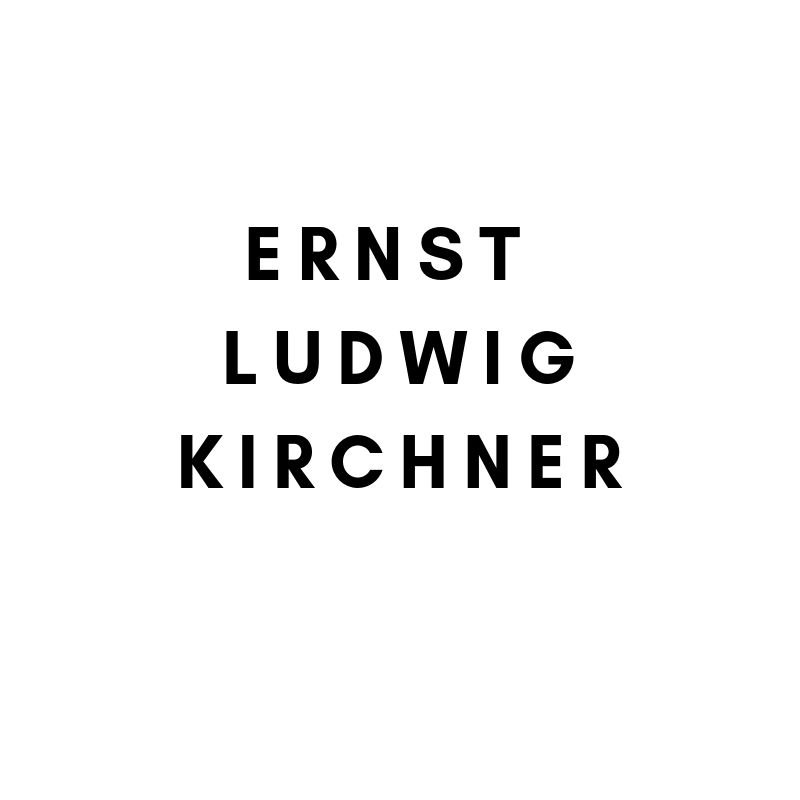 Artists Künstler Klassische Moderne: Ernst Ludwig Kirchner