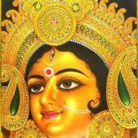 Maa Durga Paintings Collection