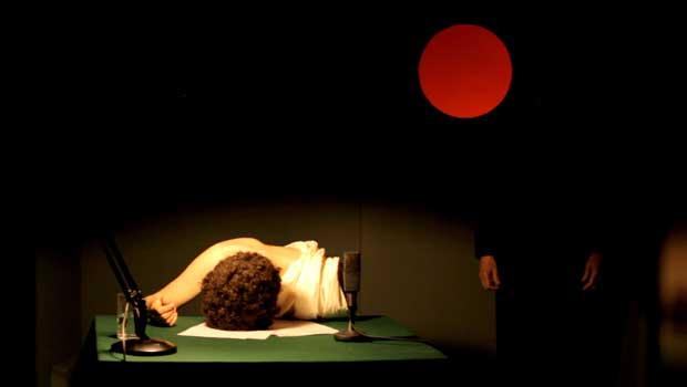 Still from Broadcast Rites (2015) (digital video). Funded by Creative Scotland. Screening as part of The Death of Lady Mondegreen, a solo exhibition at The Gallery of Modern Art, Glasgow. June 19th - September 20th 2015