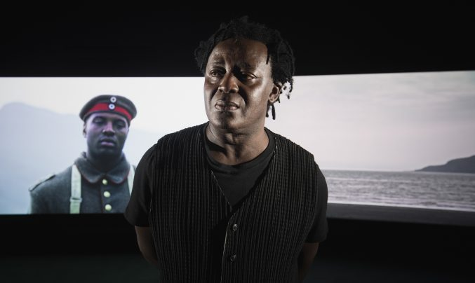 John Akomfrah Mimesis African Soldier