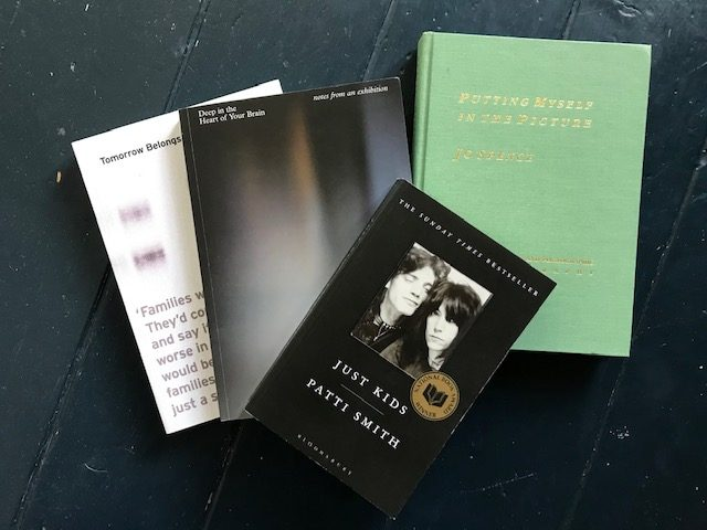 Image of books that are mentioned in the post