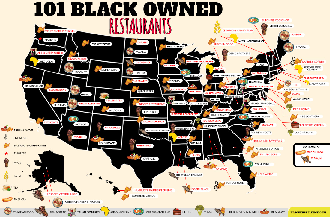 101 Black Owned Restaurants
