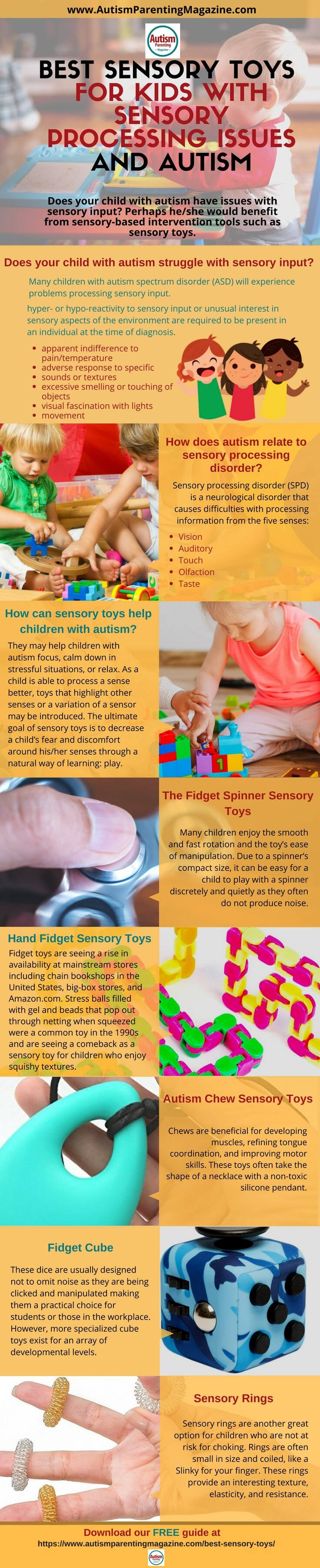 Best Sensory Toys for Kids with Sensory Processing Issues and Autism