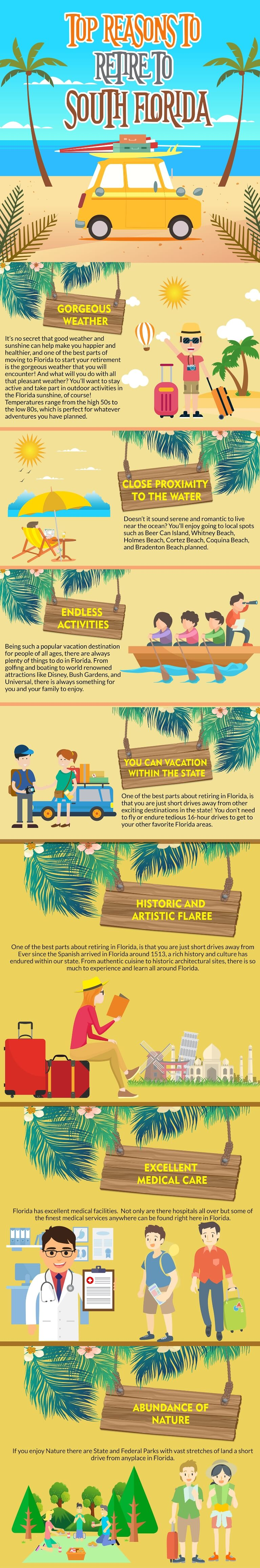 Reasons to Retire In South Florida